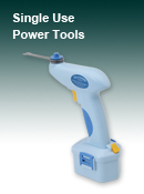 Single Use Surgical Power Tools